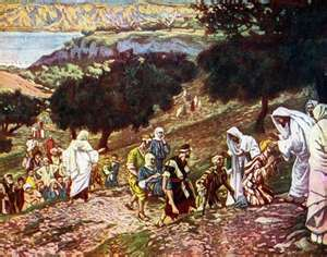 YESUS MENYEMBUHKAN - ORANG LUMPUH DAN BUTA
